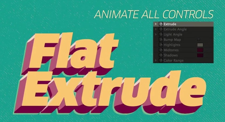 Flat Extrude