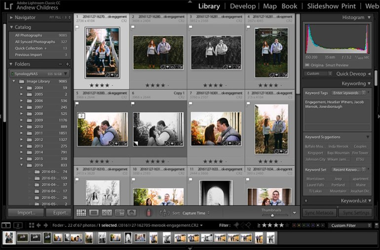 Lightroom Sequencing