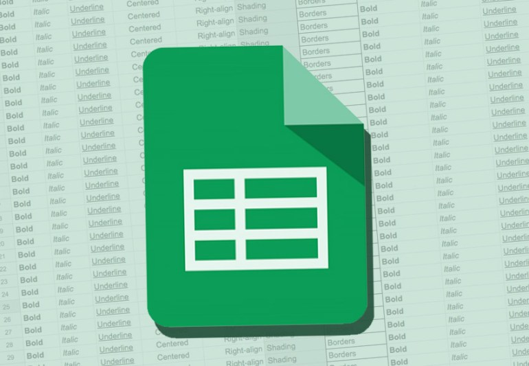 Google Sheets Formatting
