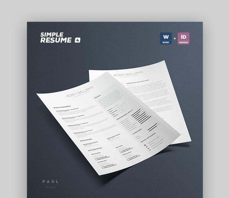 Ripresa semplice CV Volume 4