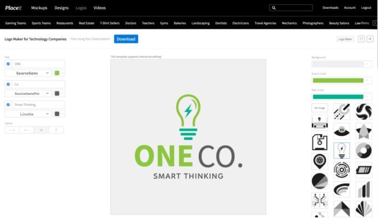 Customize Logo Placeit