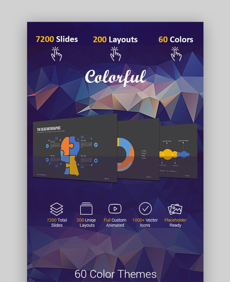 Colorful Beautiful Business Template