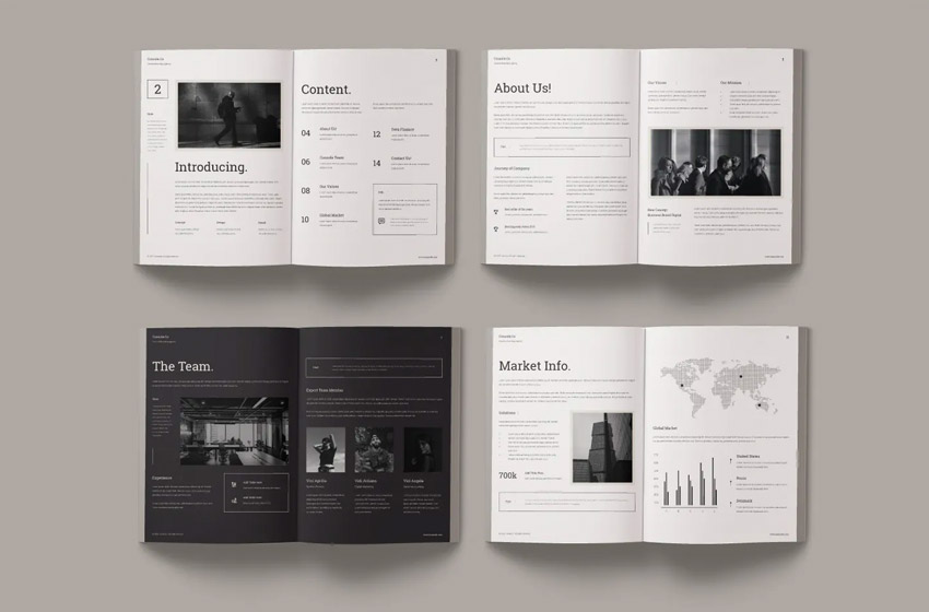 Discover 6 free indesign template designs on dribbble. 18 Best Adobe Indesign Annual Report Templates Covers Free Premium 2021 Laptrinhx