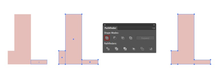 Adding a Rectangles and Merging the Figures