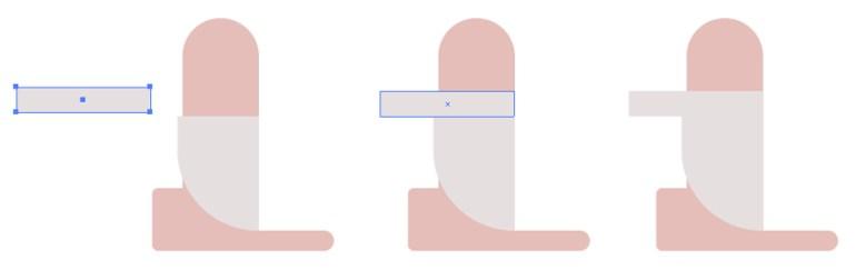 Creating Horizontal Shape