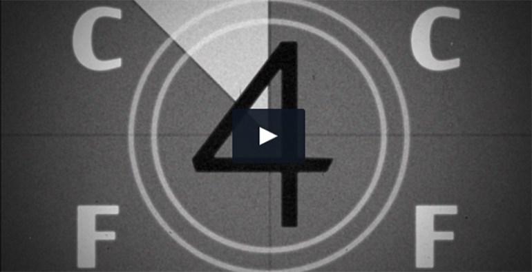 Film Leader Countdown Clock