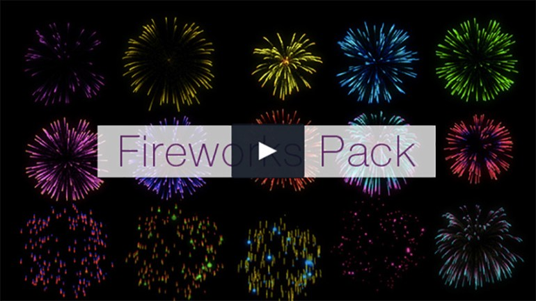 Realistic Fireworks Pack