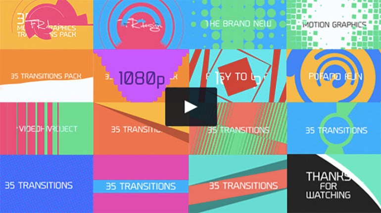 35 Cool Motion Graphics Transitions
