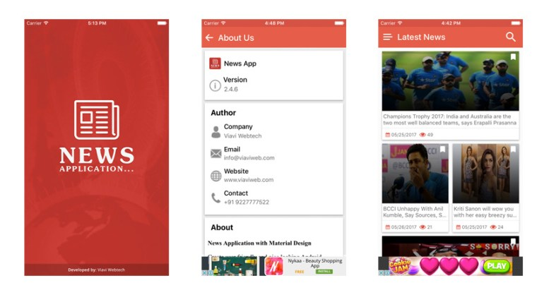 10 best ios news app templates www 101