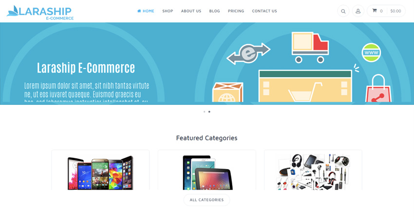 Laraship E-Commerce