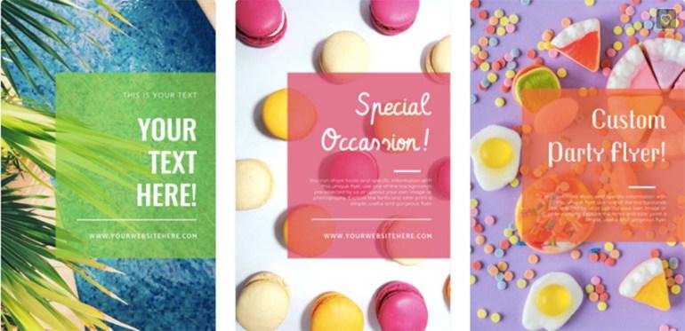 Custom Party Flyer