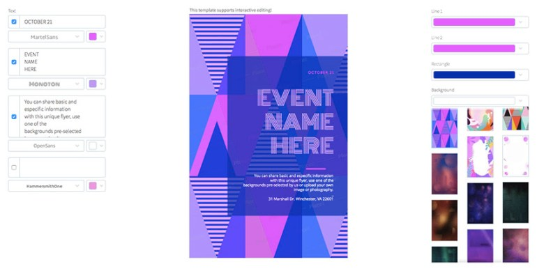 Event Online Flyer Maker