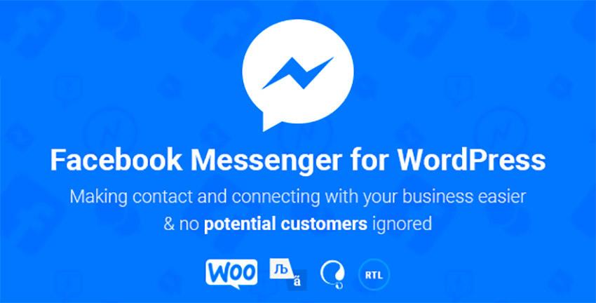 NinjaTeam Facebook Messenger for WordPress