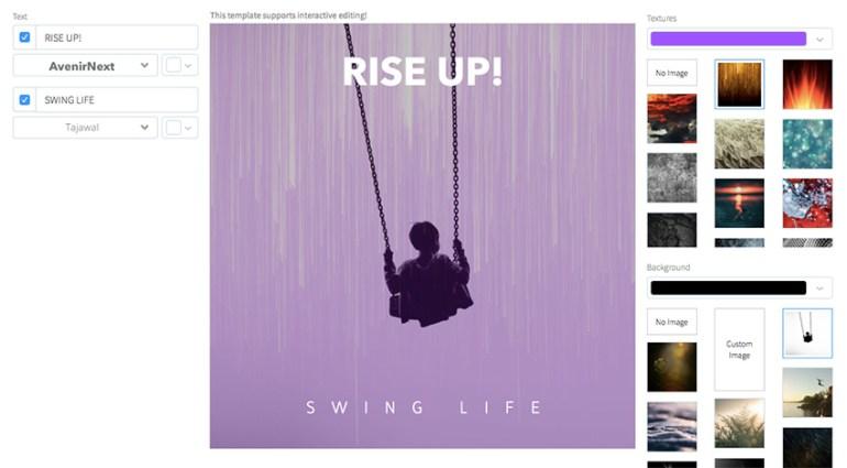 Pop-Rock Album Cover Template