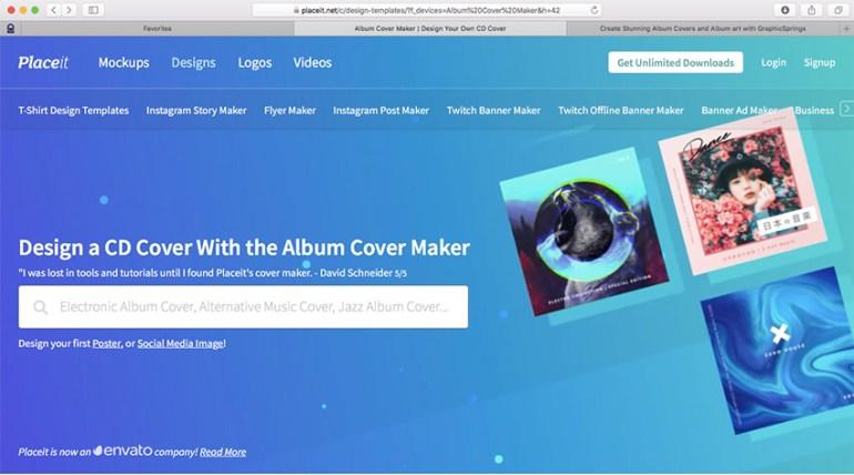 Album Cover Maker