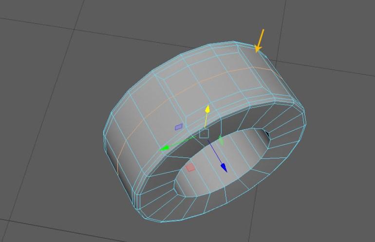 Insert an edge loop