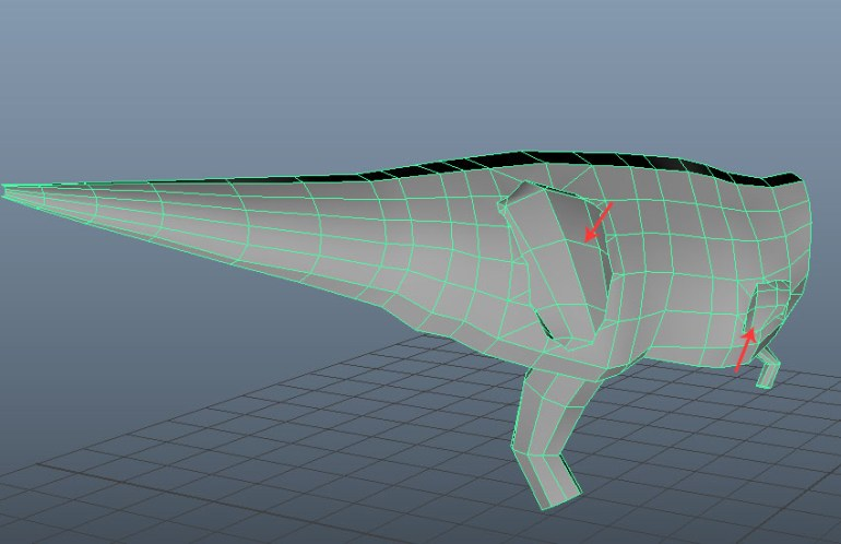 Clean the mesh topology