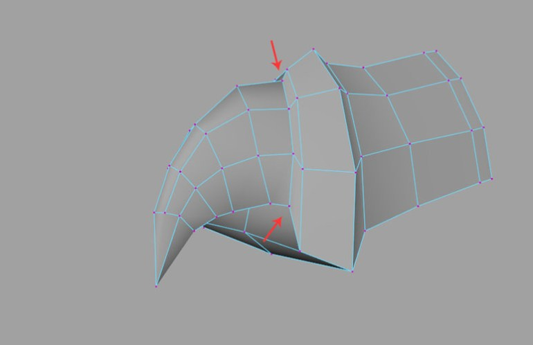 Weld all border vertices