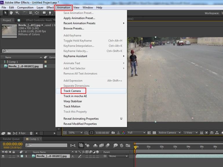 Animation  Track Camera