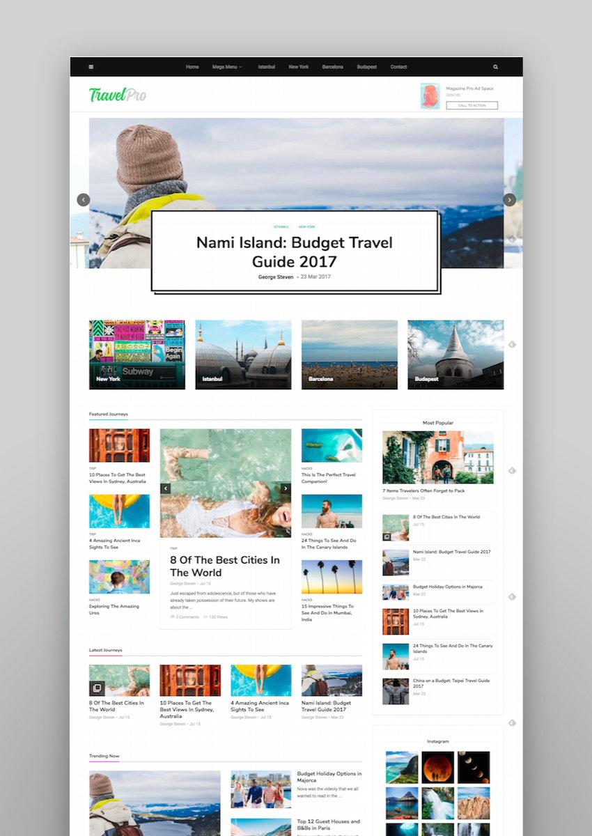 MagPlus - Blog  Magazine WordPress theme for Blog Magazine