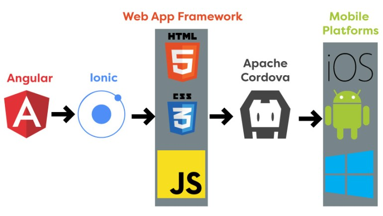 From Angular to mobile app