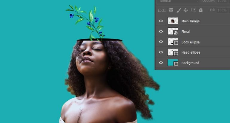 Adding flower in the models head