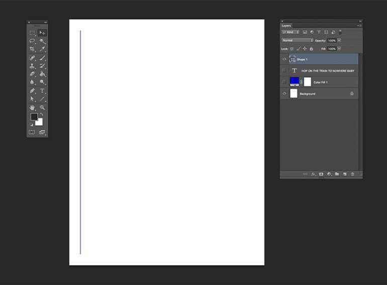 Create a 3px stroke with the same color as the color fill layer