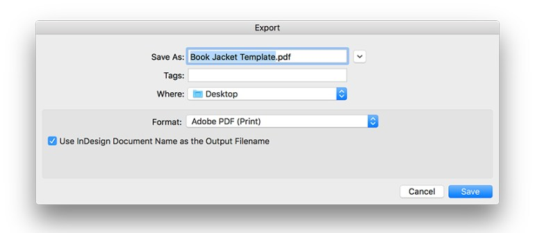 export the file as an Adobe PDF Print