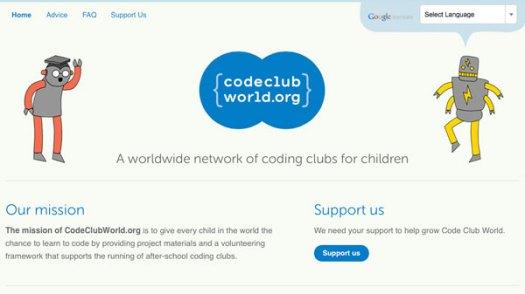 Code Club website