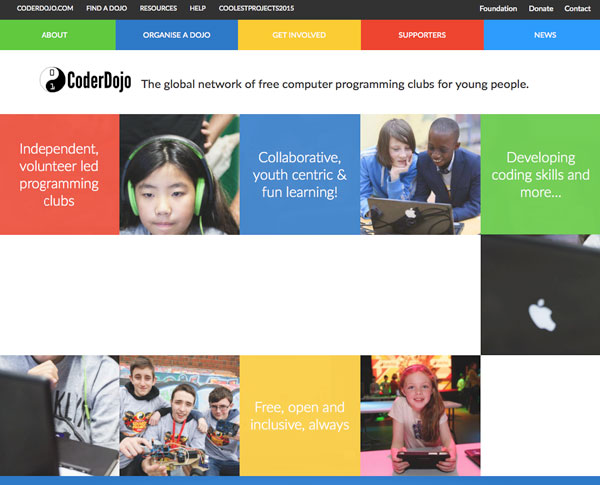 Coder dojo website