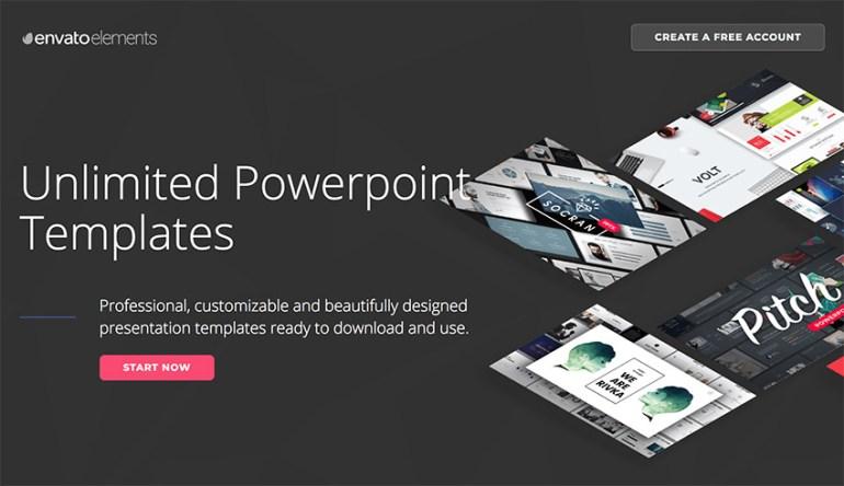 Envato Elements - Infographic PowerPoint Presentation templates