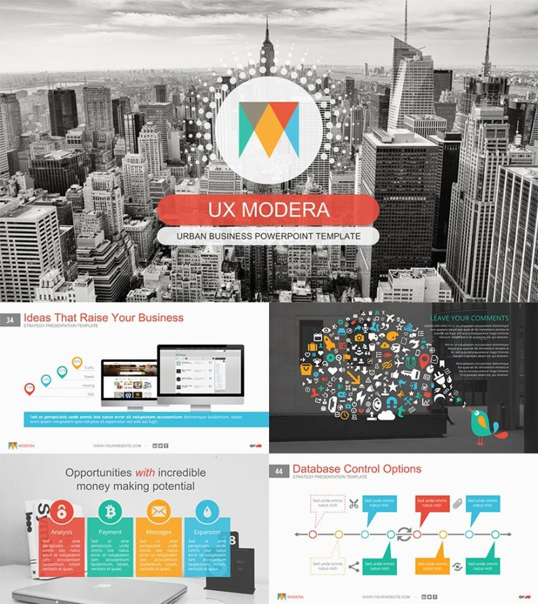 Modera Creative Google Slides Presentation Template