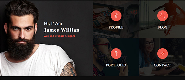 7 Creative Resume Ideas to Stand Out Online Tiled online resume website template