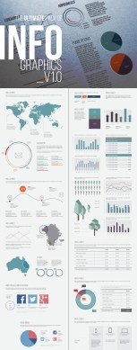 15 Best Infographic Template Designs on GraphicRiver Infographic Template Design Elements v10