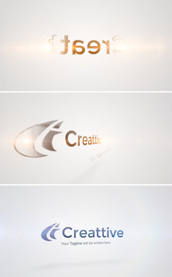 Quick Clean Contour Logo Animation