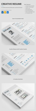 25 Creative Resume Templates  To Land a New Job in Style Professional Creative Resume Set