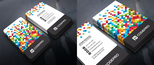 15 Creative Business Card Templates   With Unique Designs Unique Business Card Template