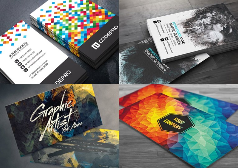 15 Creative Business Card Templates   With Unique Designs Creative Business Card PSD Templates Compared