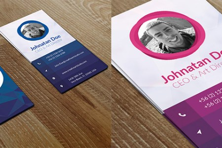15 Creative Business Card Templates   With Unique Designs Creative Vertical Business Card Design Photoshop
