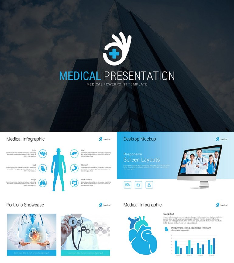 Medical Professional Presentation PowerPoint Template