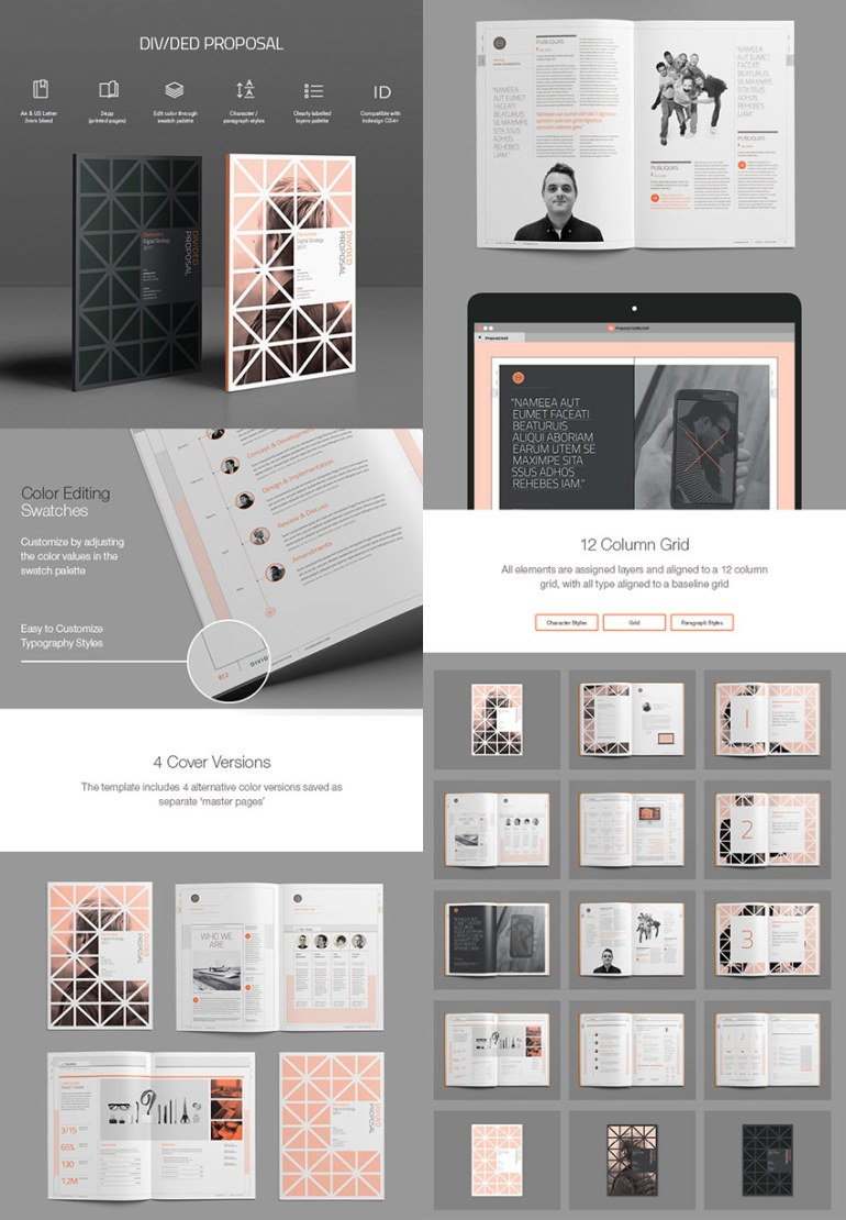 Divided Proposal Template Creative Design