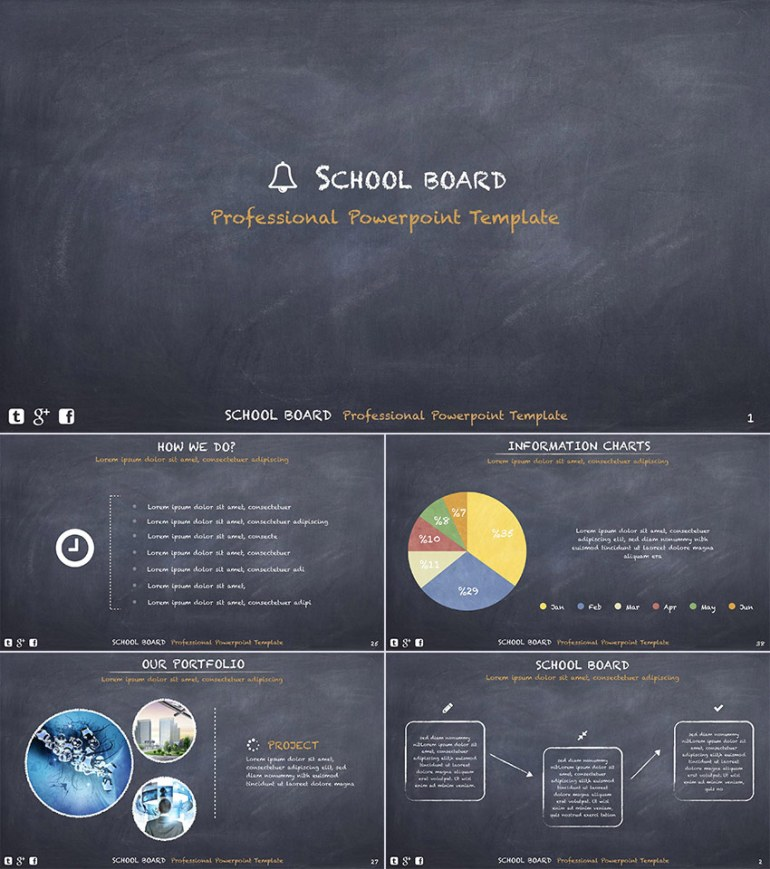 School Board Education PowerPoint Template