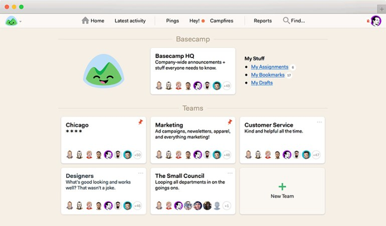 Basecamp - Simple Online Project Manager