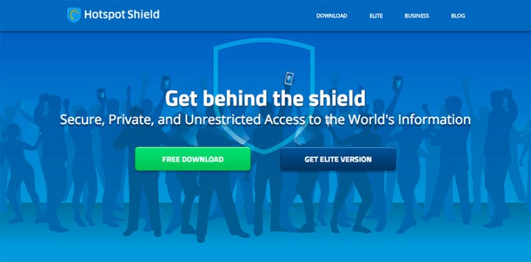 HotSpot Shield online vpn small business software