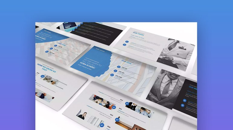 Koba Clean Google Drive Slides Presentation Themes