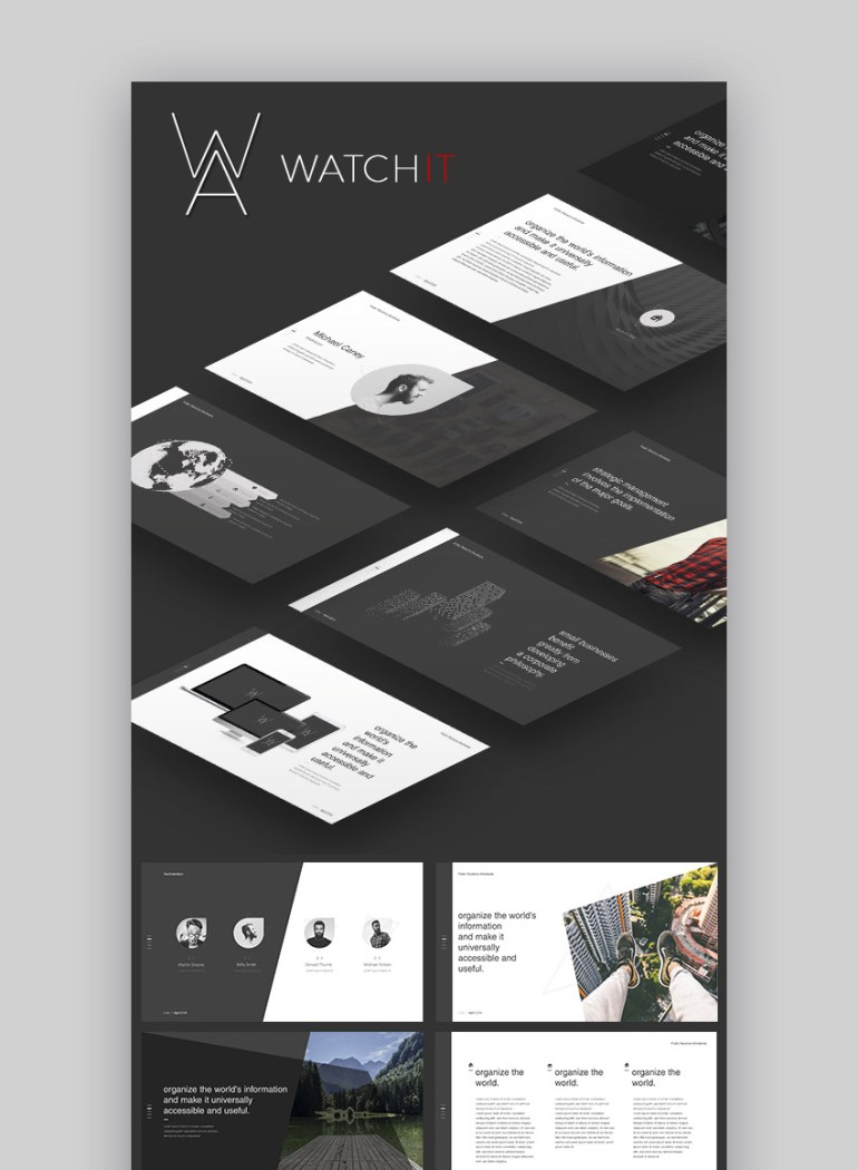 Watchit Slides Presentation Theme for Google Slides
