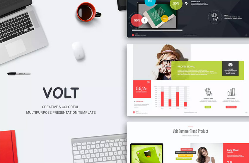 17 best powerpoint template designs for 2017 healthcare web volt one of the best powerpoint template designs toneelgroepblik Image collections