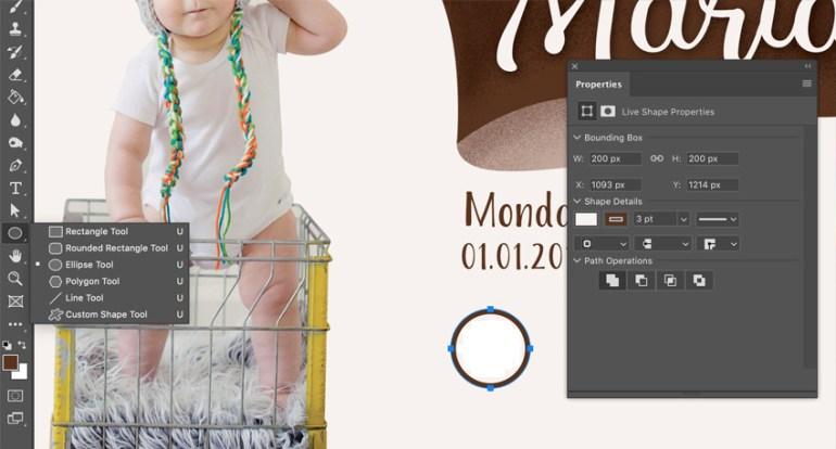 Properties panel in Adobe Photoshop