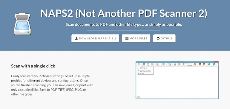 NAPS2 PDF Scanner