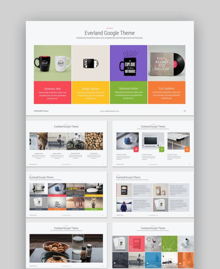 Everland Google Slides Themes for Teachers